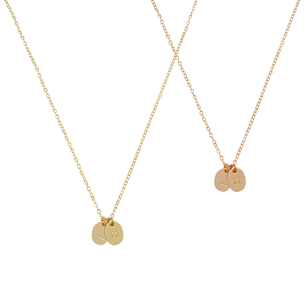 Fallon Disc Necklace - Gold, Silver, Rose Gold >>