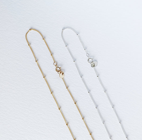 Aria Chain - Gold, Silver, Rose Gold >>
