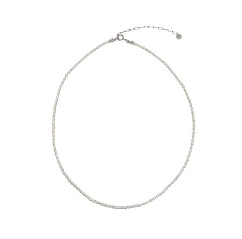 Juliet Pearl necklace - Gold, Silver >>