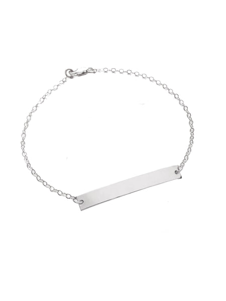 Lara Bracelet in Silver Color