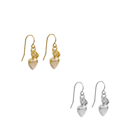 Lizzy Charm earring - Gold, Silver >>