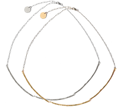The Collar Necklace Gold and Silver Color