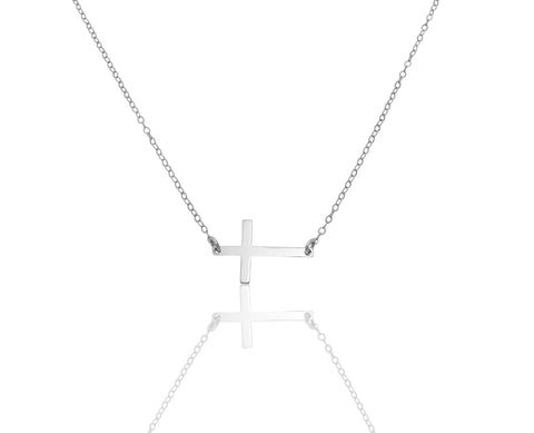 Cross Necklace - Gold, Silver, Rose Gold >>