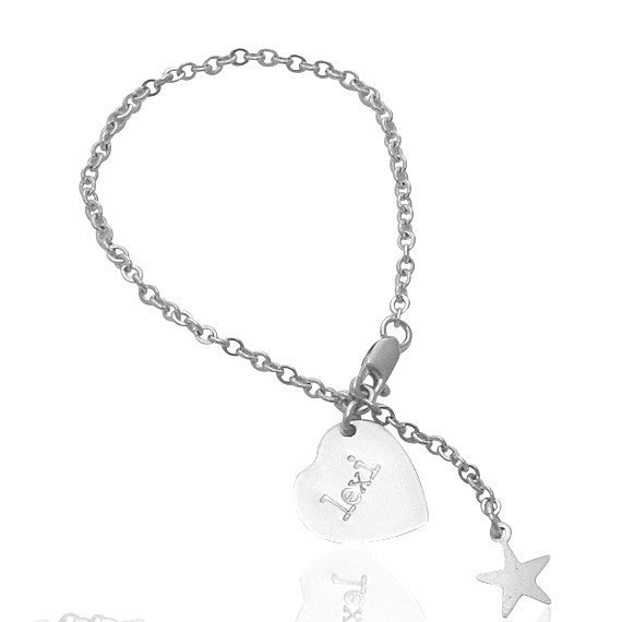 The Lexi Children's Silver Bracelet