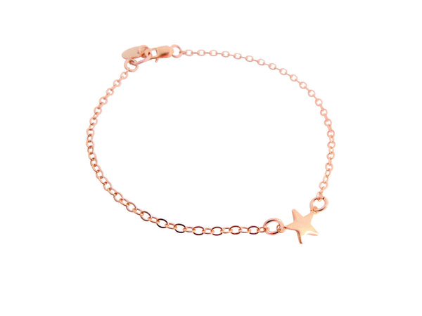 Mini Star Bracelet Gold, Silver, Rose Gold