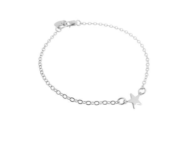 Mini Star Bracelet Gold, Silver