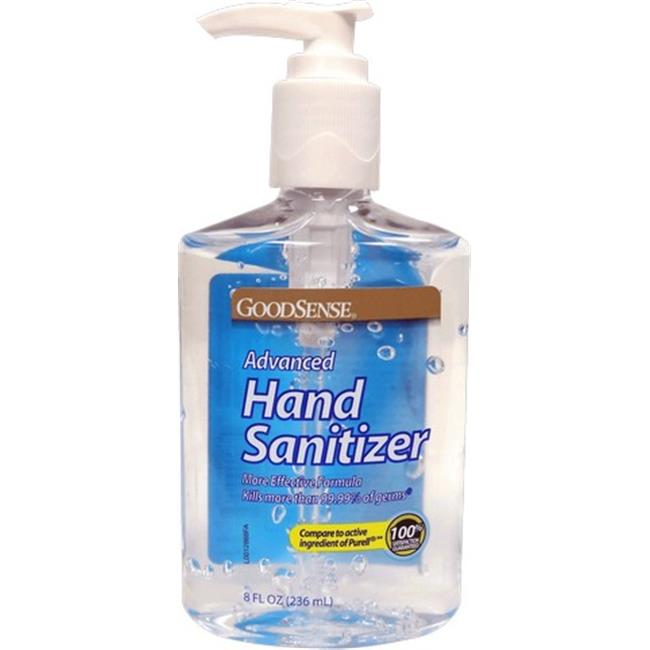 Goodsense Advanced Hand Sanitizer, 8 oz (NOTE: Limited to ONE per order)