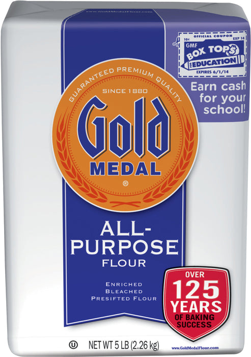 Gold Medal All Pupose Flour, 5 lbs