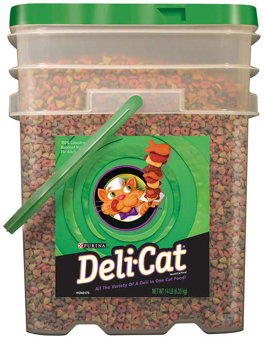 Purina Deli-Cat, Dried Cat Food, 14 lb