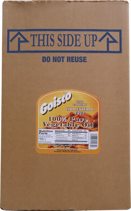Goisco 100% Pure Vegetable Oil, 4.65 gal
