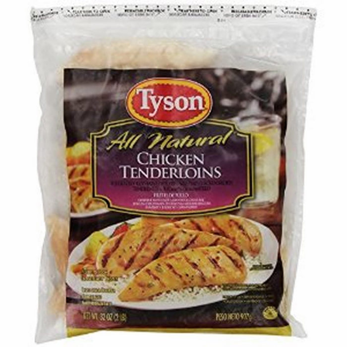 Tyson All Natural Chicken Breast Tenderloins, 4.5 lbs