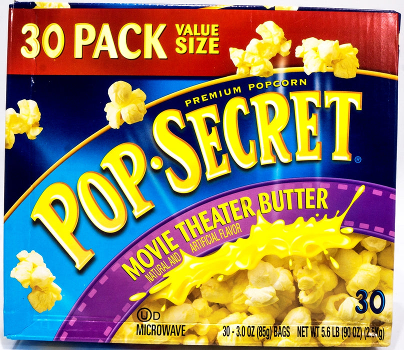 Pop Secret Premium Popcorn, 30 ct