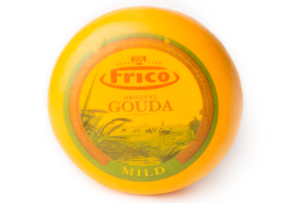 Gouda Jonge Milde Kaas, Cheese Piece, Whole Size, ca. 3.5 gr