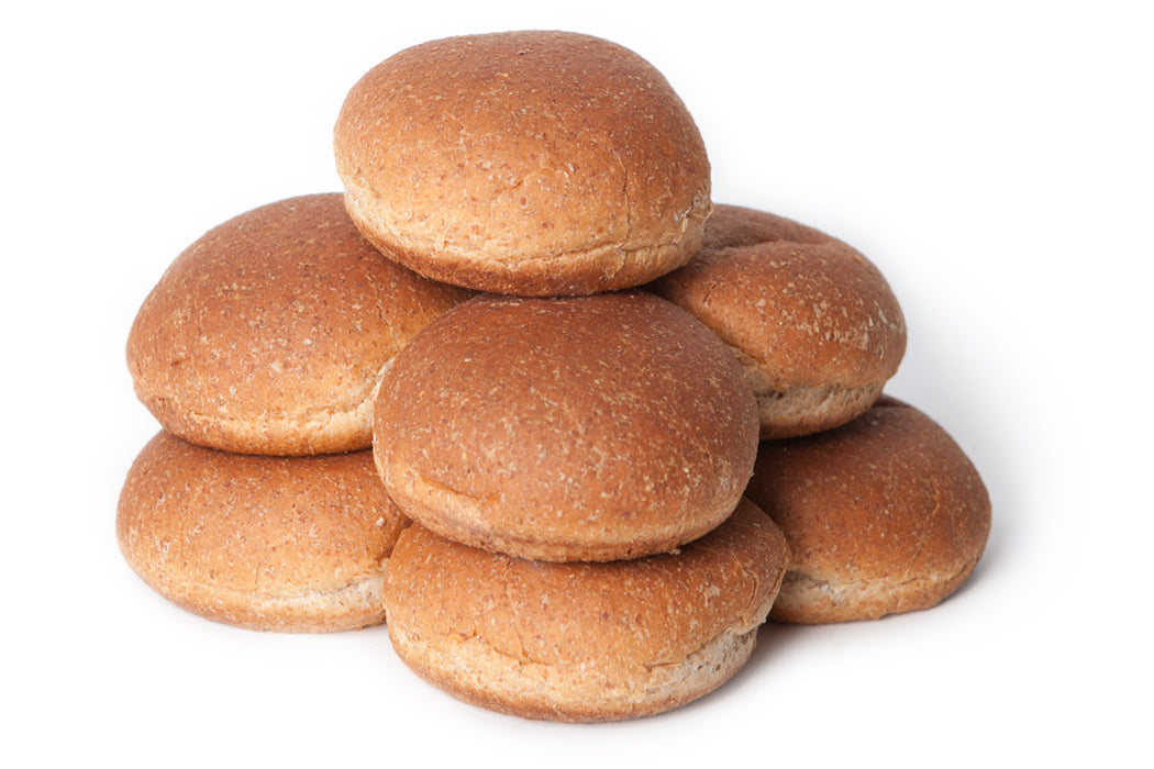 Isa Hamburger Buns, Whole-Wheat, 8 pcs