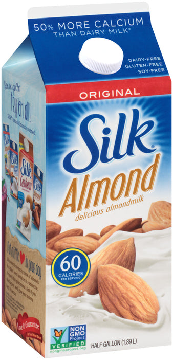 Silk Almond Milk, Original, 1.89 L