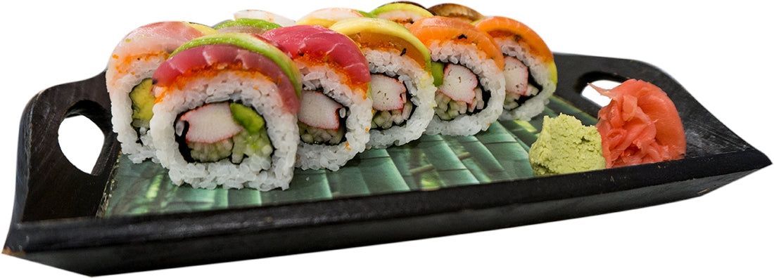 Rainbow Sushi Roll, 10 ct