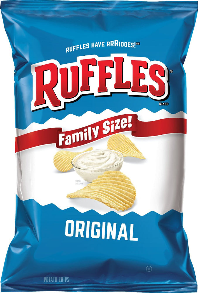 Ruffles Original Potato Chips, 15 oz