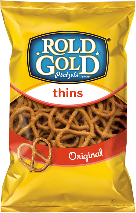 Rold Gold Original Thins Pretzels, 10 oz