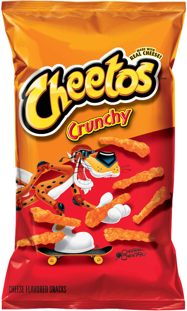 Cheetos Crunchy Cheese Flavored Snacks, 8 oz