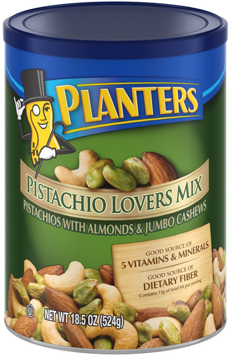 Planters Pistachio Lovers Mix, with Almonds & Jumbo Cashews, 18.54 oz (524 gr)