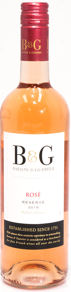B&G Barton & Guestier Rose Wine, Reserve 2015, France, 750 ml