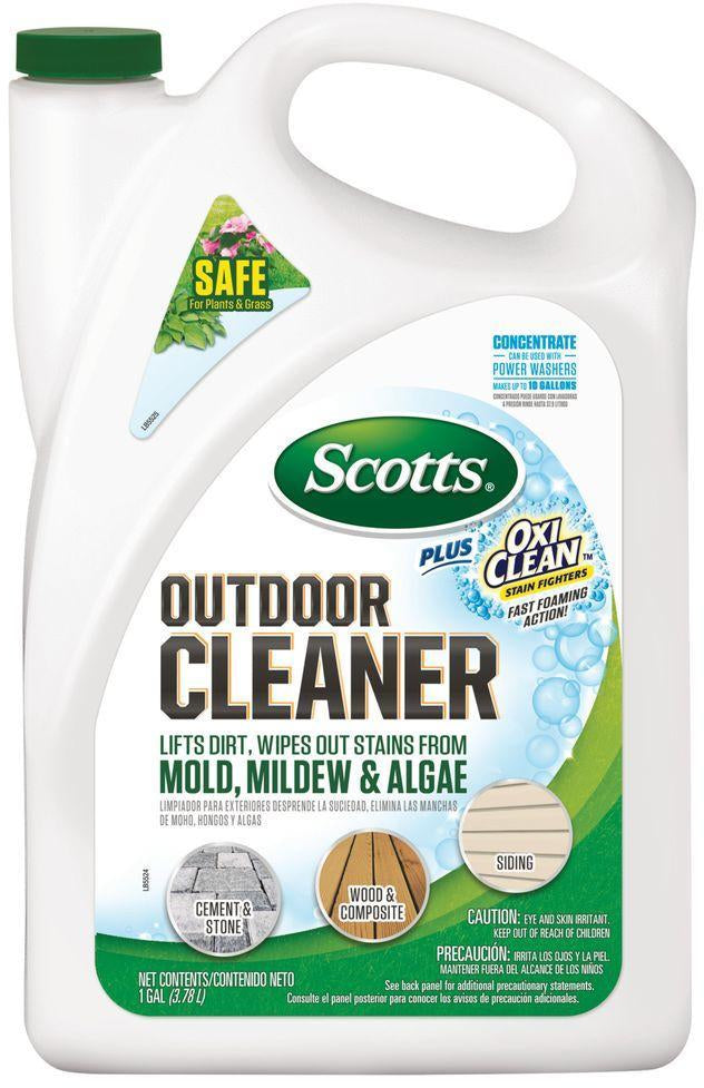 Scotts Outdoor Cleaner with OxiClean Stain Fighter, 2 gal