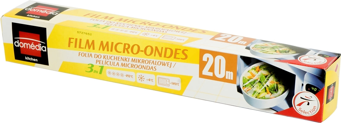 Domedia Kitchen Microwave Film, 3 in 1, 20 m