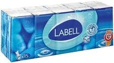 Labell Comfort Tissue Pack, 15 x 9 ct