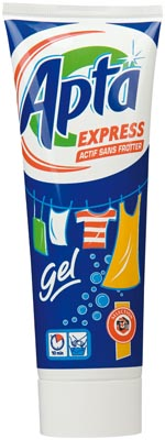 Apta Express Laundry Detergent Gel for Hand Washing, 250 ml