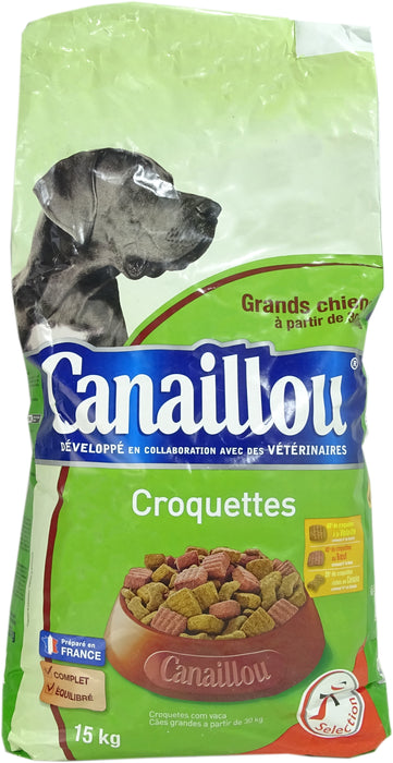 Canaillou Dry Dog Food, Large Breeds, 33 lbs