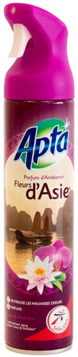 Apta Air Freshener, Asia Flowers Fragrance, 300 ml
