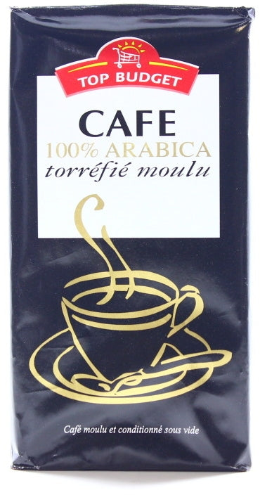 Top Budget 100% Arabica Coffee, 250 gr
