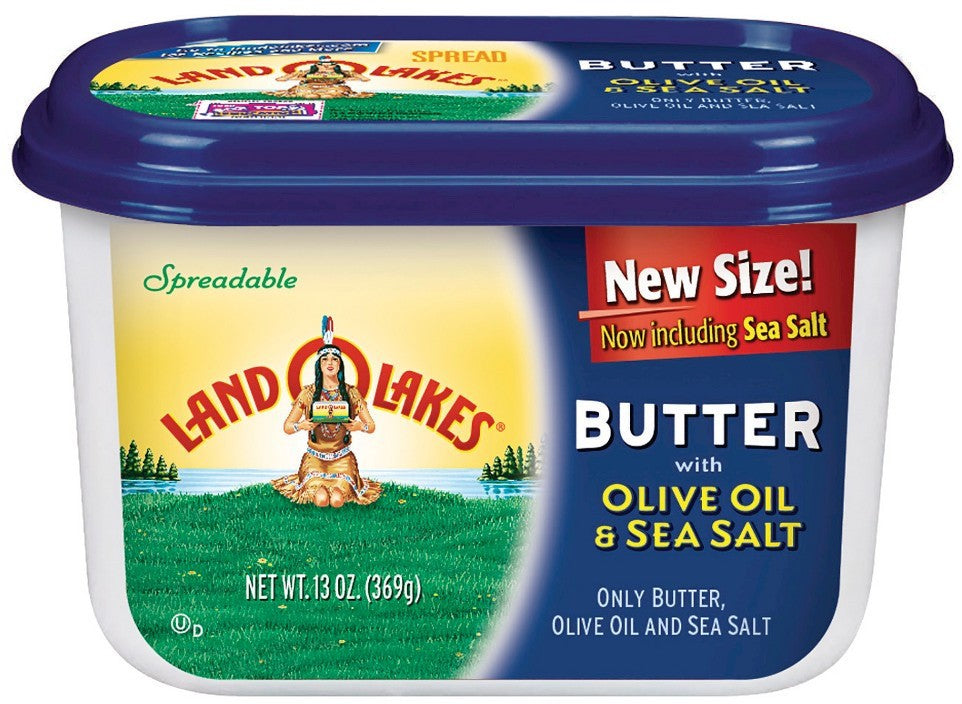 Land O Lakes Butter with Olive Oil & Sea Salt, 13 oz