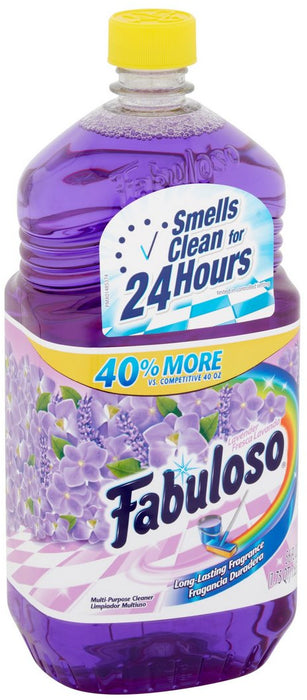 Fabuloso Multi-Purpose Cleaner, Lavender Long-Lasting Fragrance, 56 oz