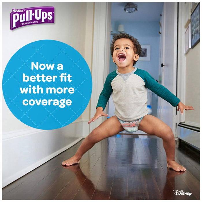 Huggies Pull-Ups Training Pants for Boys, Size 3T-4T, 15-18 kg, 116 ct