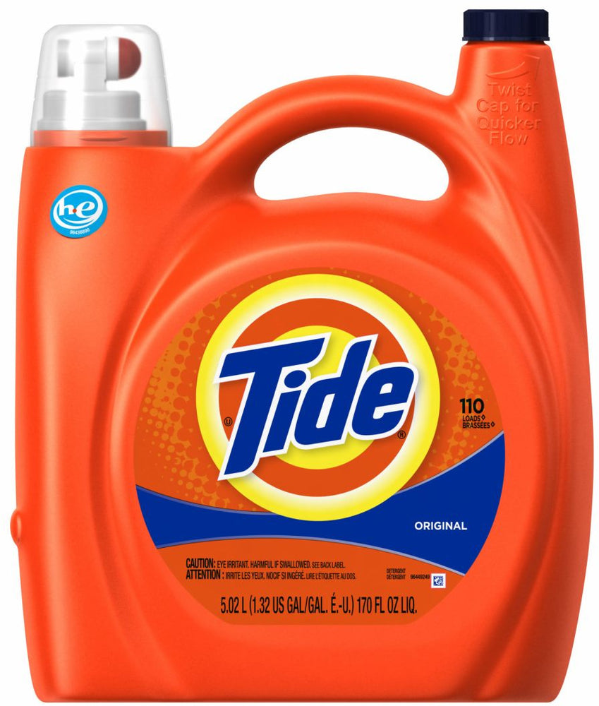 Tide He Original Liquid Laundry Detergent, 170 oz