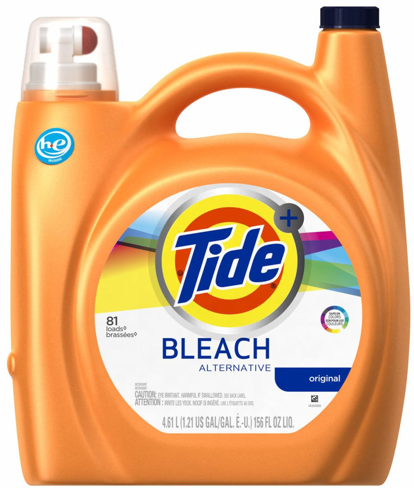 Tide Original Bleach Alternative Liquid Laundry Detergent, 156 oz