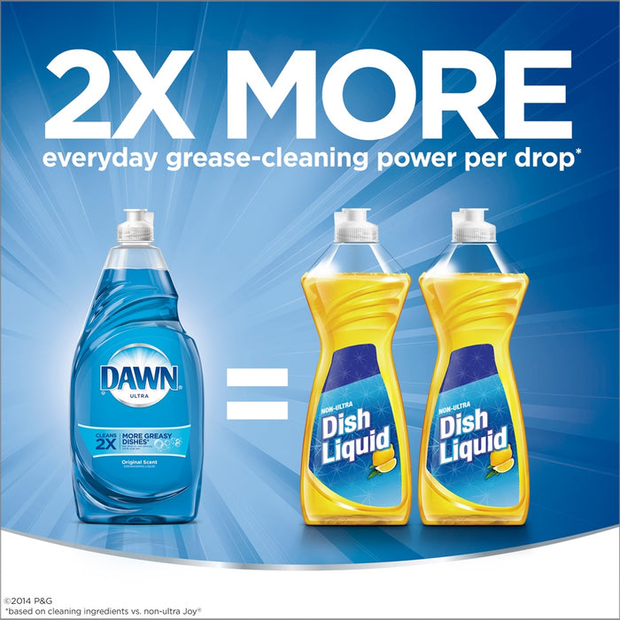 Dawn Ultra Dishwashing Liquid, Original Scent, 90 oz