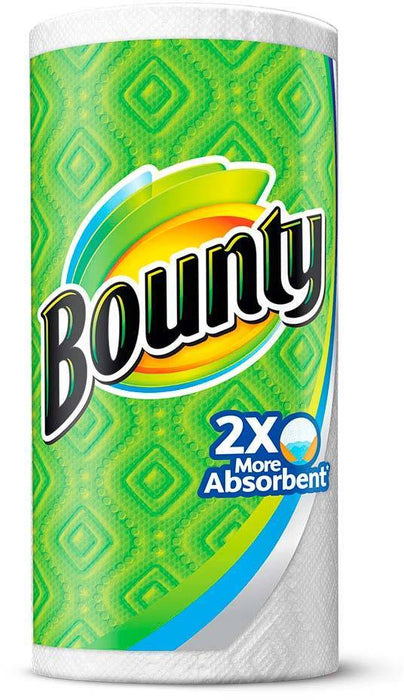 Bounty Paper Towels, 77 sheets, 2-ply, 1 rolls