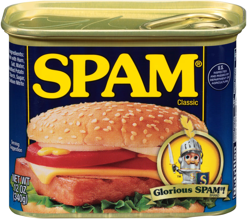 Spam Classic Luncheon Meat, 12 oz