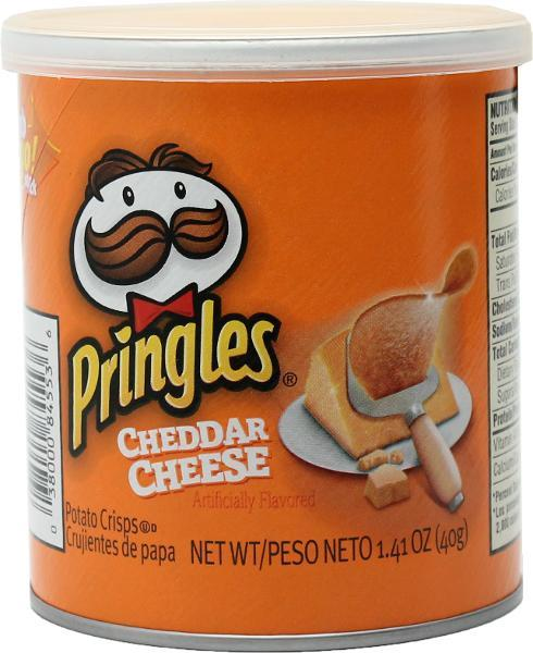 Pringles Cheddar Cheese Small Stacks, Value Pack, 12 x 40 gr
