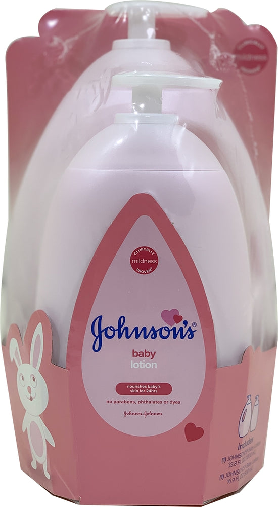 Johnson's Baby Lotion Value Pack, 2 ct