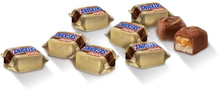 Snickers Miniatures Chocolate, 52 oz
