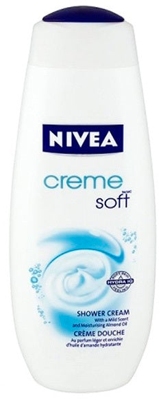 Nivea Creme Soft Body Wash, 750 ml
