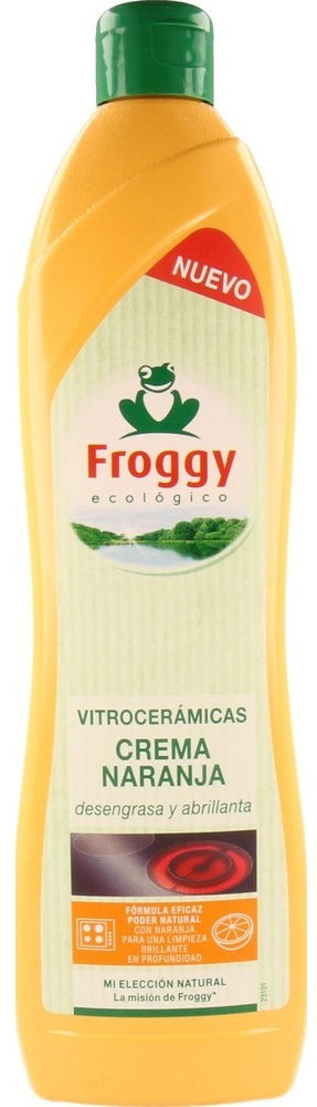 Froggy Ecologic VitroCeramics Cleaner, Orange Cream, 650 ml