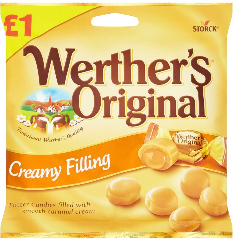 Werther's Original Butter Candies with Creamy Filling,