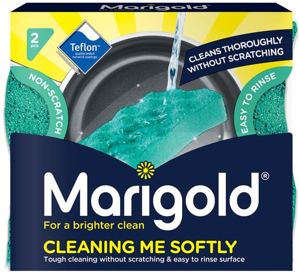 Marigold Cleaning Me Softly Teflon-Tested Scourer Value Pack, 2 ct