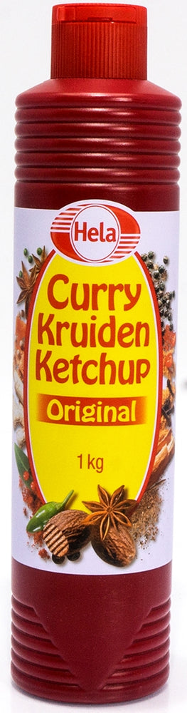 Hela Curry Kruiden Ketchup, Original, 860 ml