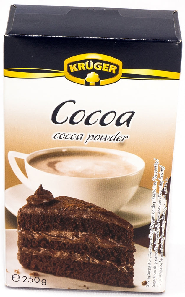 Kruger Kakao, Cocoa Powder, 250 g