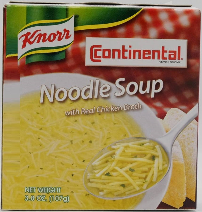 Knorr Continental Noodle Soup with Real Chicken Broth, 2 x 3.8 oz